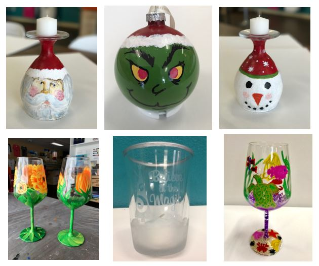 20% off Glassware Projects this weekend!
