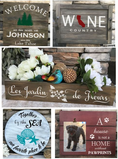 Wood Signs & Home Decor